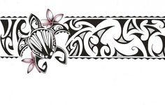 Polynesian Band Tattoos Designs