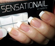 How-to-Apply-Sensationail-French-Manicure-Tips-for-Your-Nails - Fashion & Beauty Ideas