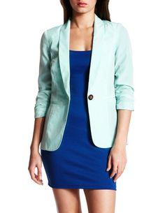 Perfect blazer, perfect color.