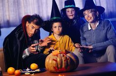 A list of Halloween game ideas that will cost you next to nothing at your Halloween party. Kids and adults will love these Halloween party games.