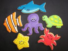 Under the Sea Cookies - mermaid party