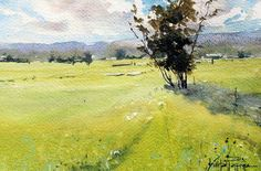 VInita Pappas, watercolor artist and art instructor. Her website offers online watercolor classes, lessons, plein air setup, painting tutuorials and more. Watercolor Tips, Watercolour Tutorials, Watercolor Techniques, Watercolor Landscape, Landscape Paintings, Watercolor Paintings, Painting Tutorials, Watercolor Paper, Watercolor Classes