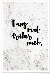 Buy posters online JUNIQE - Fitness and Exercises, Outdoor Sport and Winter Sport Happy Quotes, Best Quotes, Funny Quotes, Buy Posters Online, Art Online, Positive Mantras, Dance Humor, Word Pictures, Brush Lettering