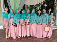 Hijabi bridesmaid dress