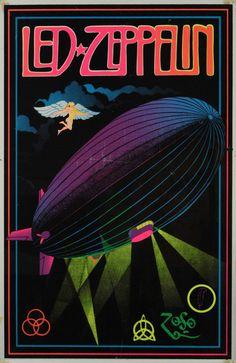 Vintage Music Art Poster - Led Zeppelin - 0571 – The Vintage Music Poster Shop Led Zeppelin Wallpaper, Led Zeppelin Poster, Arte Led Zeppelin, Led Zeppelin Tattoo, Led Zeppelin Logo, Led Zeppelin Album Covers, Rock Posters, 80s Posters, Vintage Music Posters