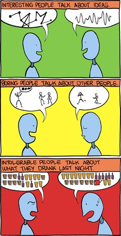 Interesting, boring and intolerable people. And for the most part, I agree with SMBC on this!