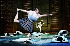 Bailey Ryon and Bertie Carvel during The Smell of Rebellion in Matilda the Musical on Broadway Matilda Cast, Matilda Broadway, Broadway Shows, Miss Trunchbull, Matilda Costume, Broadway Costumes, Broken Leg, Musical Theatre, Best Shows Ever