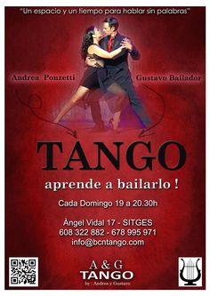 A&G TANGO - SHOWS & CLASSES -  BARCELONA, SITGES: BAILA TANGO EN SITGES - DANCE TANGO AT SITGES