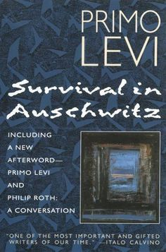 Survival in Auschwitz by Primo Levi (1995, Paperback)