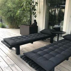 Deck Fireplace, Terrace Garden, Home Projects, New England, Garden Design, Spa, Backyard, Exterior, Couch