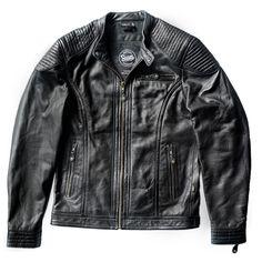 Suus 'The Smith' Leather Jacket – Black - SUUS - 1