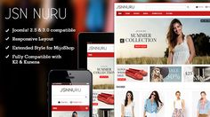 Deals JSN Nuru - Responsive Joomla E-commerce TemplateIn our offer link above you will see