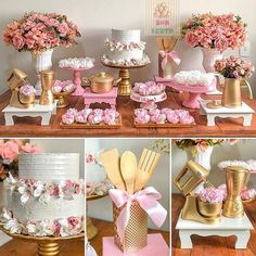 New Shabby Chic Cake Table Ideas Bridal Shower Decorations, Birthday Party Decorations, Birthday Parties, Wedding Decorations, Table Decorations, Cake Table, Dessert Table, Pasteles Shabby Chic, Shabby Chic Cakes