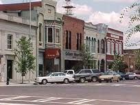 Thomasville, GA. Cute downtown shops and restaurants, beautiful Victorian homes.