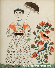 A masterpiece of early American folk art, pictured in Young America.