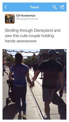November 20 2014 Clif Tweets from Disneyland #Jensen&Danneel