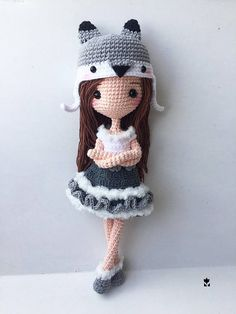 10 inches height Cutie Crochet Doll - Custom color (if no any request we will made as photo color) - please allow at least 3 weeks processing time - If you need it earlier please contact before place order - All items ship from Thailand to worldwide. - It usually take 15-20 days from the