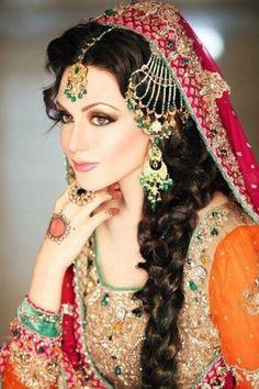 Pakistani Wedding Dresses Collection 2014 for Bride. #bridaldresses…