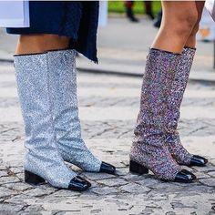 Shining bright like Chanel boots ✨Como lidar com isso? #WishListNow
