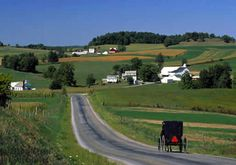 Picturesque Amish Countyside ~ Lancaster, Pennsylvania