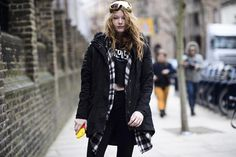 Street-Style Shopping: The Trick to a Winter Crop Top