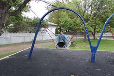 Sensory Park: Try looking around in your community to see what types of activities are available for children and youth with disabilities.  In this example we use a sensory park as a perfect example of a no cost option to engage a child in play that is also sensory stimulating #FASD #FASDStrategies