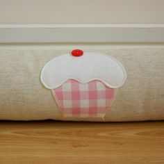 Draught excluder by Gingham Designs