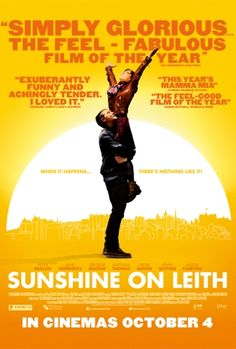 Sweet feel-good musical movie with music of The Proclaimers.  15/02/2014