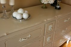 great painted furniture | Painted Dresser French Provincial Furniture by Transformations2