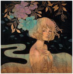 Европейский модерн и традиционное японское влияние картин  ОТ КАВАСАКИ