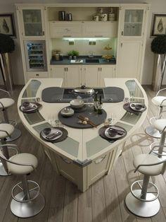 idea super moderna de isla de cocina