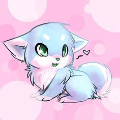 Cute kawaii drawings, cute cartoon drawings, cute puppies images, cute do. Cute Wolf Drawings, Cute Animal Drawings Kawaii, Cute Cartoon Drawings, Puppy Drawings, Anime Wolf, Kawaii Anime, Kawaii Cute, Anime Animals, Cute Animals