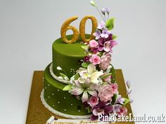 60th Birthday Cake - Cake by Beatrice Maria