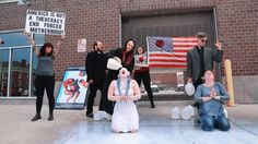 Satanists Ambush Anti-Planned Parenthood Protests with Theatrical Milk Bath