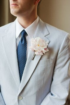 Wedding Seersucker Suit 2014