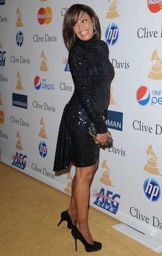 Whitney Houston Photos Photos - Clive Davis' 2011 Pre-GRAMMY Gala.Beverly Hilton Hotel, Beverly Hills, CA.February 12, 2011. - Clive Davis 2011 Pre-GRAMMY Party