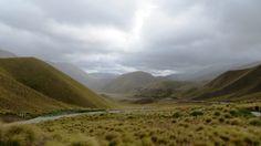 South Island landscape, New Zealand   Photo by Ayuna Skol Ofenstrü (January 2014)