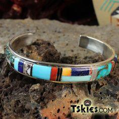 Zuni Channel inlay bracelet