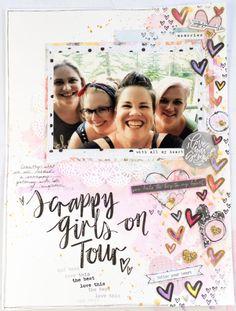 Scrappy Girls On Tour   More Than Words   Adele Toomey – Cocoa Vanilla Studio