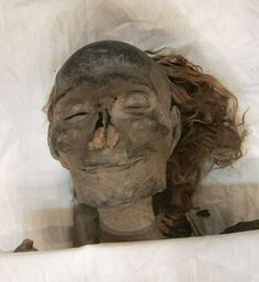 Found in the Valley of the Kings, the mummy of Queen Hatshepsut with abundant red hair