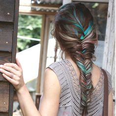 dá vontade de ter cabelo colorido de novo!