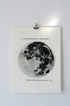 moon print by fieldguided on Etsy, $30.00