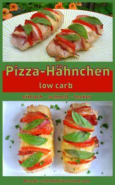 Pizza Hähnchen low carb Low carb und lecker kann so einfach du schnell sein. Bei uns gibt es immer einen frischen Salat zu dem Pizza Hähnchen und schon ist die Mahlzeit perfekt. Mehr gibt es dazu nicht zu sagen… außer viel Spaß beim Ausprobieren. #lowcarb #abnehmen #LCHF #Gesundheit #kochen #Rezept #deutsch #essen #healthy #healthyfood #fitnessfood #food