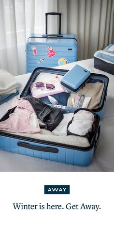 """We're just going to say it: Away luggage is killing it when it comes to making packing chic and easy."" — Conde Nast Traveler"