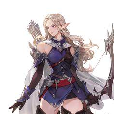 ArtStation - Elf Archer, Junq Jeon Archer, Elves, Concept Art, Character Design, Princess Zelda, Artwork, Anime, Fictional Characters, Sterling Archer