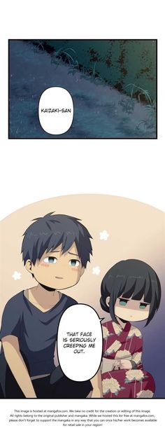 ReLIFE 107: report107. Reflection at MangaFox.me