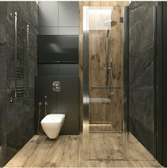 Do you want to have a modern small bathroom? Here we present the 45 Modern Small Bathroom Decor Ideas. May you inspire and build your bathroom as you wish from this article. Bathroom Design Luxury, Bathroom Layout, Modern Bathroom Design, Bathroom Ideas, Bathroom Remodeling, Remodeling Ideas, Bathroom Organization, Bad Inspiration, Bathroom Inspiration