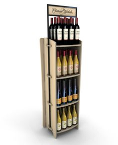 UNI Wine Rack Screwless by Ricky Cordero at Coroflot.com