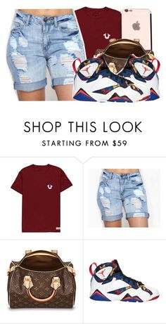 """"""""""" by baby-trilldolls ❤ liked on Polyvore featuring True Religion"""