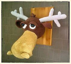 Moosley the Moose - $5.00 by Mamo Swala